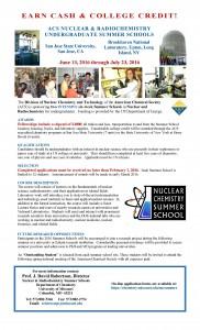 NuclearSummerSchoolFlyer2016